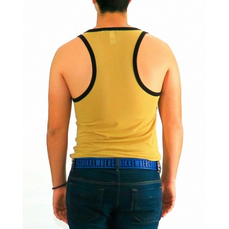 Tshirt Top Tank Dirk Bikkembergs Gold Edition - Camisetas Tops - Ropa de marca Dirk Bikkembergs Camiseta Hombre Sin mangas cuell
