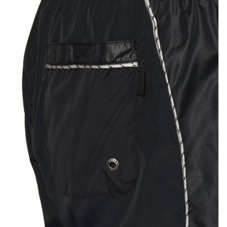 Hugo Bañador Seine - Bañadores y ropa de baño hombre - Ropa de marca Hugo Boss Bañador Hombre color negro con goma y lazo en la