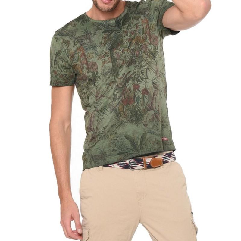 Kaporal Tshirt Bigoo Dark Kaki