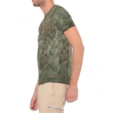 Kaporal Tshirt Bigoo Dark Kaki - Camisetas|Tops - Ropa de marca Kaporal Camiseta Hombre color verde -
