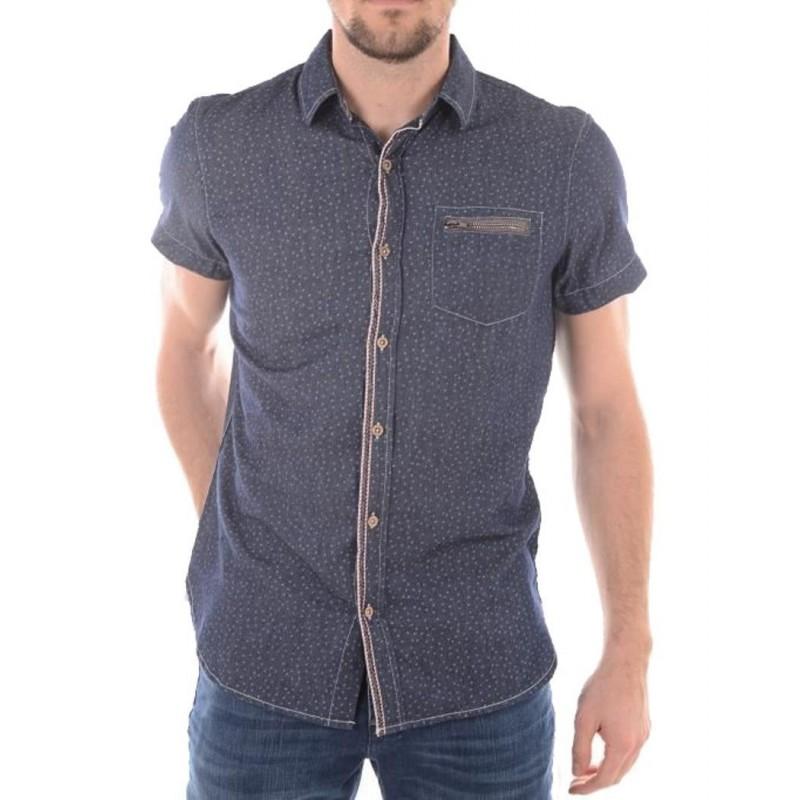 Kaporal Shirt Fime Blue Night