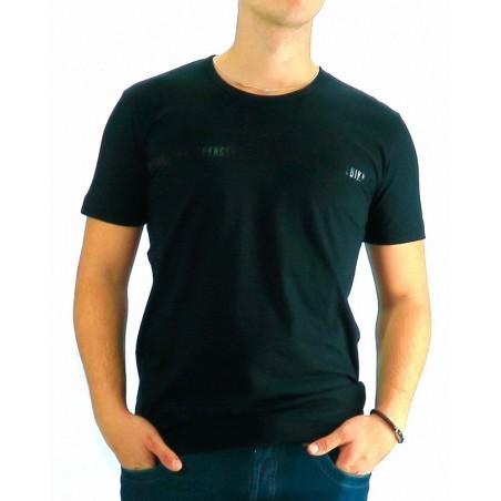 Tshirt Dirk Bikkemberg Black Shinny Logo - Camisetas|Tops - Ropa de marca Dirk Bikkembergs Camiseta Hombre Manga corta cuello re