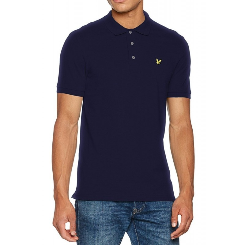 Blue navy polo shirt Lyle & Scott for...