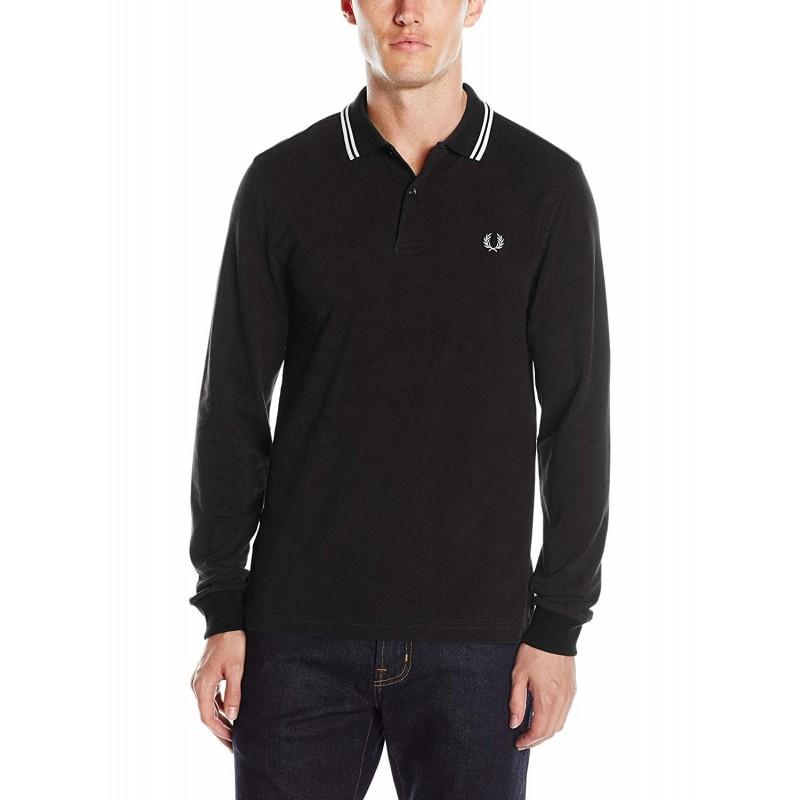 Men's long-sleeved polo shirt Fred...
