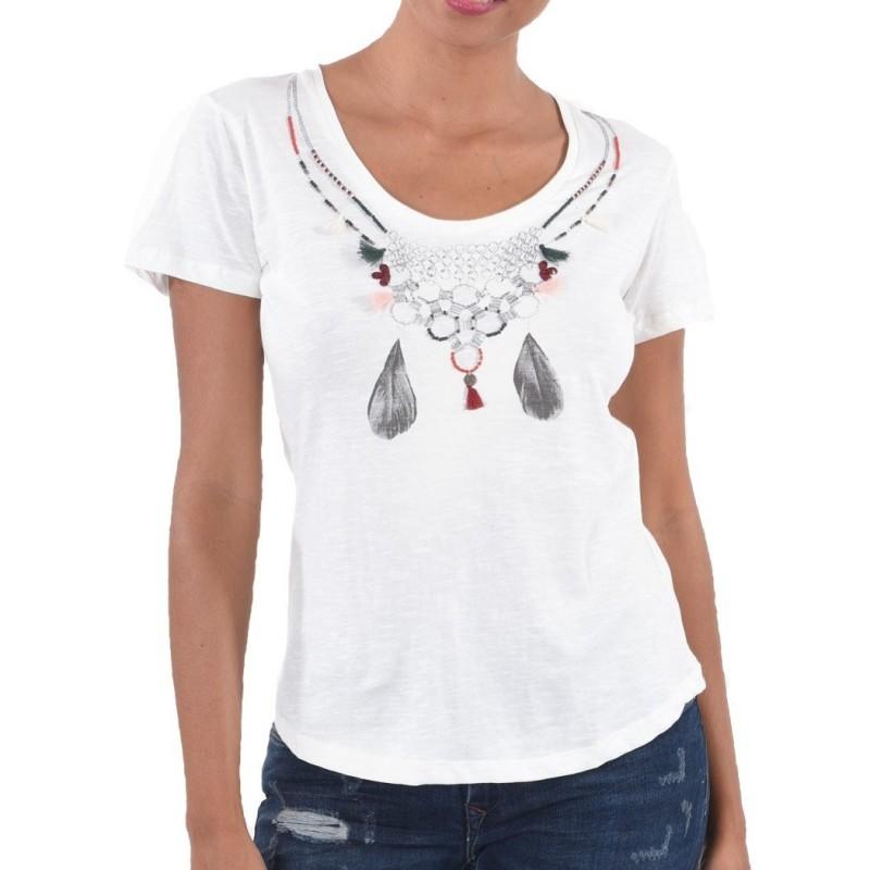 T-shirt à manches courtes pour femmes...