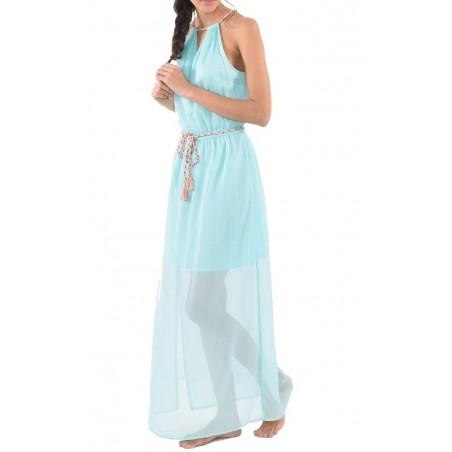 Vestido ajustado para mujer Kaporal Jeans Nilon - Vestidos y monos - Ropa de marca Kaporal Vestido Mujer Sin mangas cuello pico
