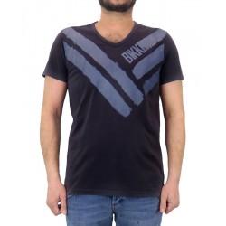 Camiseta de manga corta para hombre Dirk Bikkembergs color gris vintage - Camisetas|Tops - Ropa de marca Dirk Bikkembergs Camise