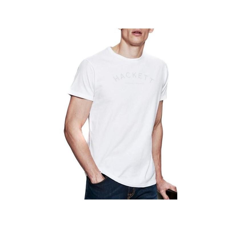 Camiseta manga corta Hackett HM500229/800 - Camisetas|Tops - Ropa de marca Hackett London Camiseta Hombre Manga corta cuello red