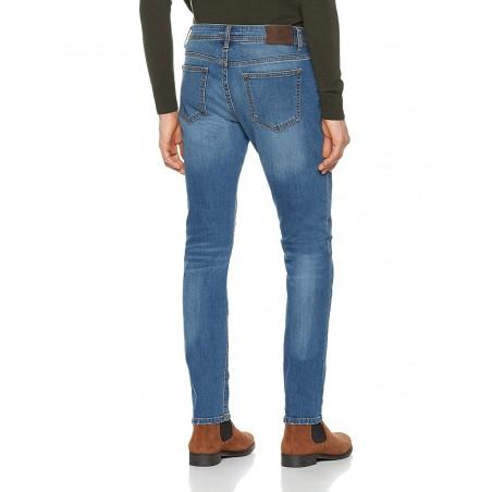 Hackett Tejano HM211647L/5FI Hombre - Jeans|Pantalones - Ropa de marca Hackett London Vaquero Hombre largo 34 color azul con bot