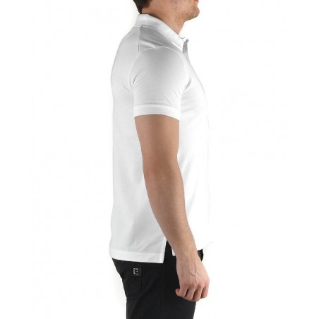 Polo Bikkembergs London City White - Polos|Shirts - Buy brand Dirk Bikkembergs Mens Polo Short sleeve polo neck colour white wit