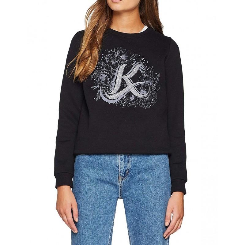 sweater jersey mujer negro kaporal tarax