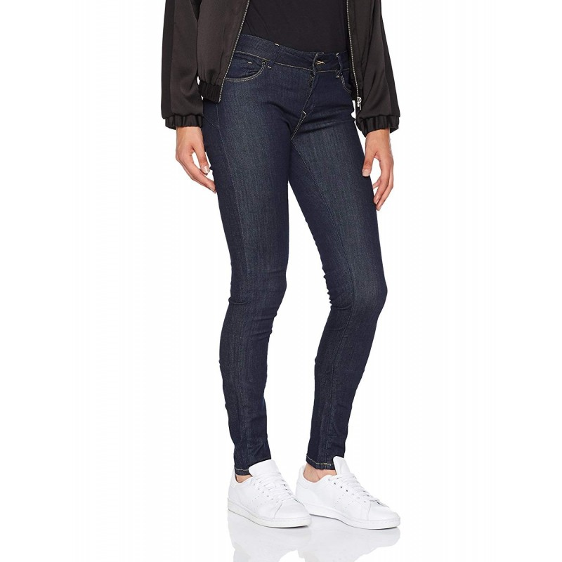 jeans color azul raw mujer kaporal...