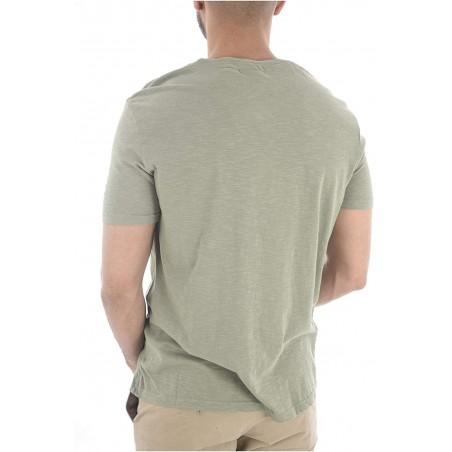 camiseta manga corta color verde oliva hombre kaporal lacko - Camisetas|Tops - Ropa de marca Kaporal Camiseta Hombre Manga corta