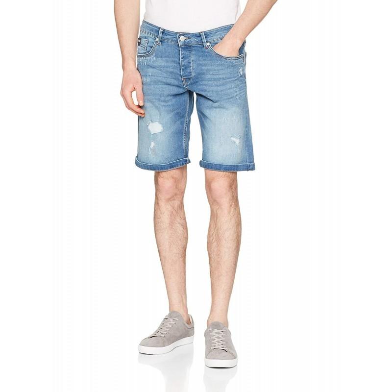 bermuda hombre jeans claro kaporal vito
