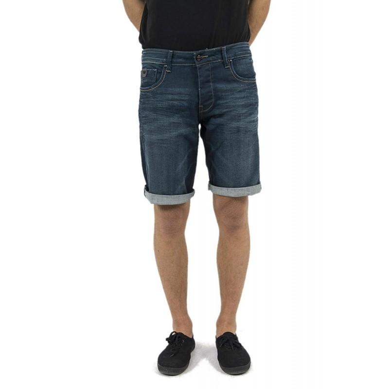 bermuda hombre jeans oscuro kaporal vito