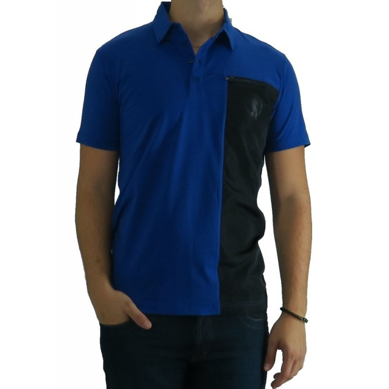 Polo Bikkembregs Big Noir Strip