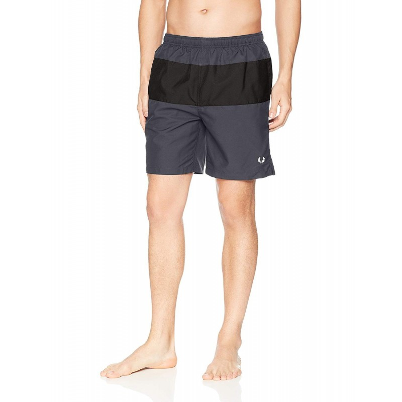 swimwear man Fred Perry color GRAY...
