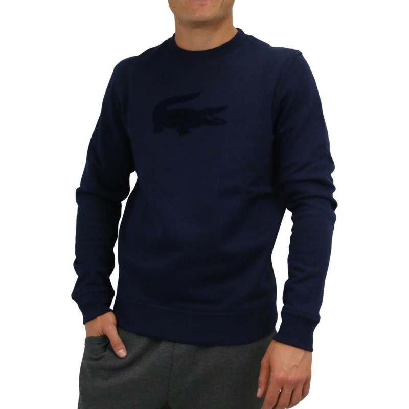 Man sweater navy blue Lacoste SH9258 166