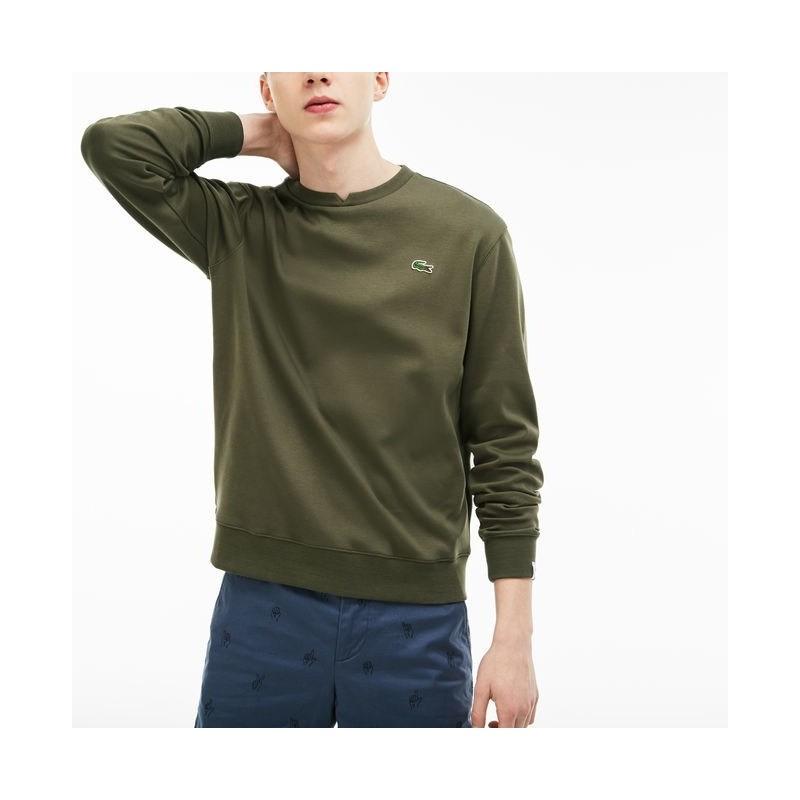 jersey sweater man color kaki Lacoste...