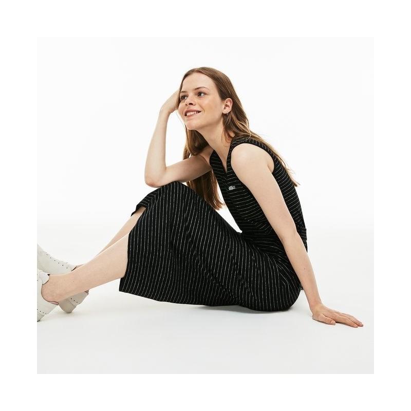 Vestido mujer negor Lacoste EF2661 9M