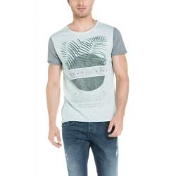 Camiseta hombre manga corta SALSA JEANS1145778059 - Camisetas|Tops - Ropa de marca Salsa Jeans Camisa Hombre Manga corta cuello