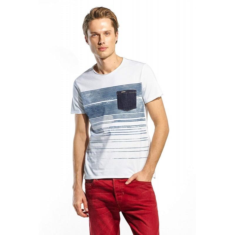 Camiseta hombre manga corta SALSA...