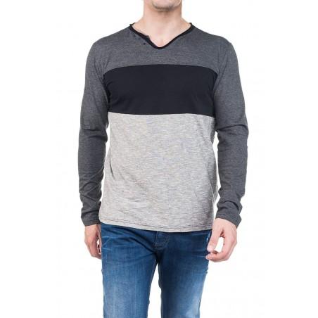 Camiseta hombre manga corta SALSA JEANS115689 - Camisetas|Tops - Ropa de marca Salsa Jeans Camisa Hombre Manga larga cuello pico