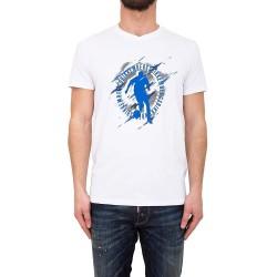 Camiseta para hombre Dirk Bikkembergs  C729SFSEB020A00 - Camisetas Tops - Ropa de marca Dirk Bikkembergs Camiseta Hombre Manga c