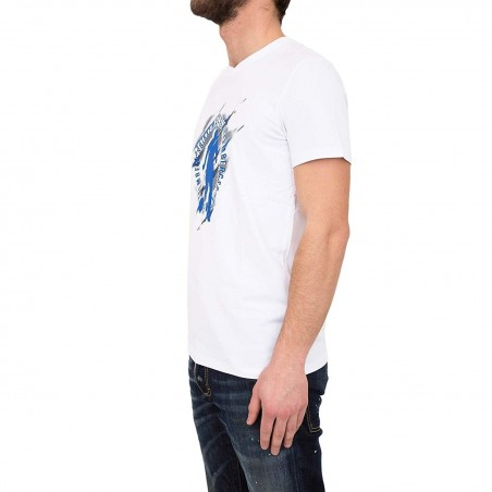 Camiseta para hombre Dirk Bikkembergs  C729SFSEB020A00 - Camisetas|Tops - Ropa de marca Dirk Bikkembergs Camiseta Hombre Manga c