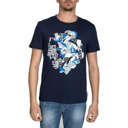 Camiseta para hombre Dirk BikkembergsB6T10240023 - Camisetas|Tops - Ropa de marca Dirk Bikkembergs Camiseta Hombre Manga corta c