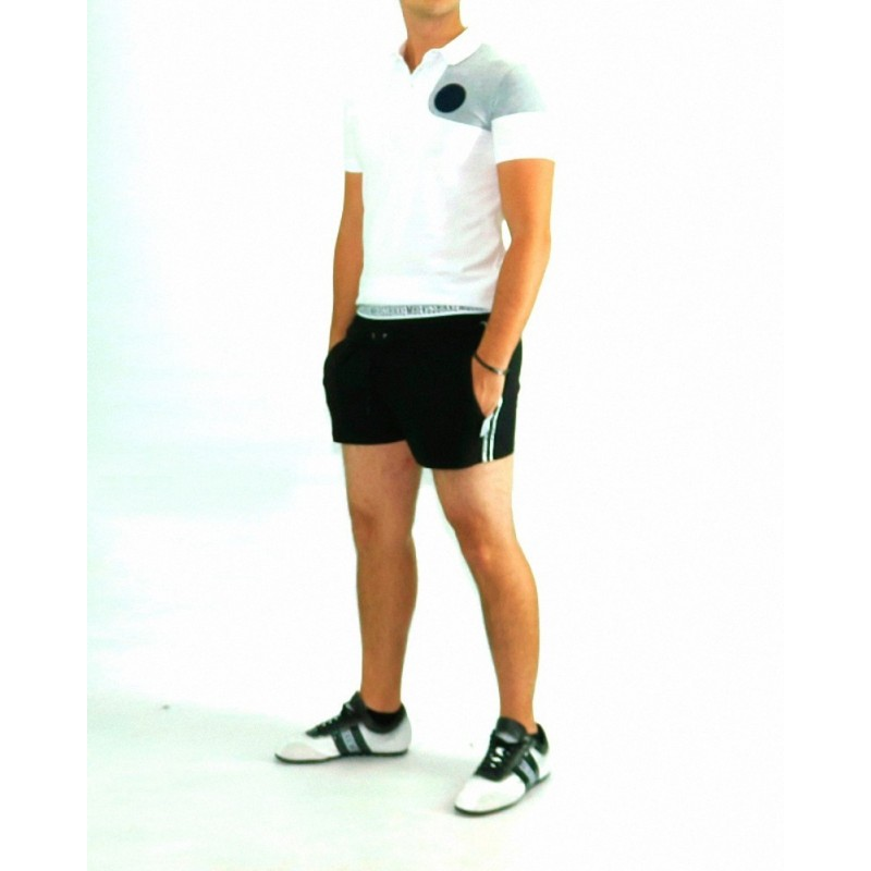 Bikkembergs Mare Double Short Black