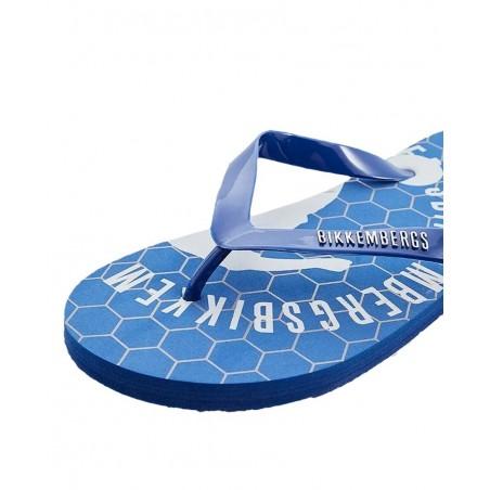Chanclas hombre BIKKEMBERGS B6A8034 BLU - Chanclas y sandalias - Ropa de marca Dirk Bikkembergs Zapato Hombre color azul De quit