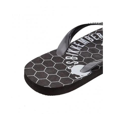 Chanclas hombre BIKKEMBERGS B6A8034 BLACK - Chanclas y sandalias - Ropa de marca Dirk Bikkembergs Zapato Hombre color negro De q