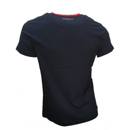 camiseta manga corta hombre  hackett HM5003042A2 - Camisetas Tops - Ropa de marca Hackett London Camiseta Hombre Manga corta cue