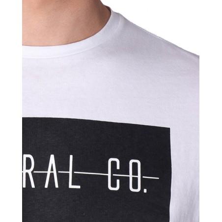 Camiseta manga corta hombre KAPORAL PRIZZ WHITE - Camisetas Tops - Ropa de marca Kaporal Jeans Camiseta Hombre Manga corta cuell