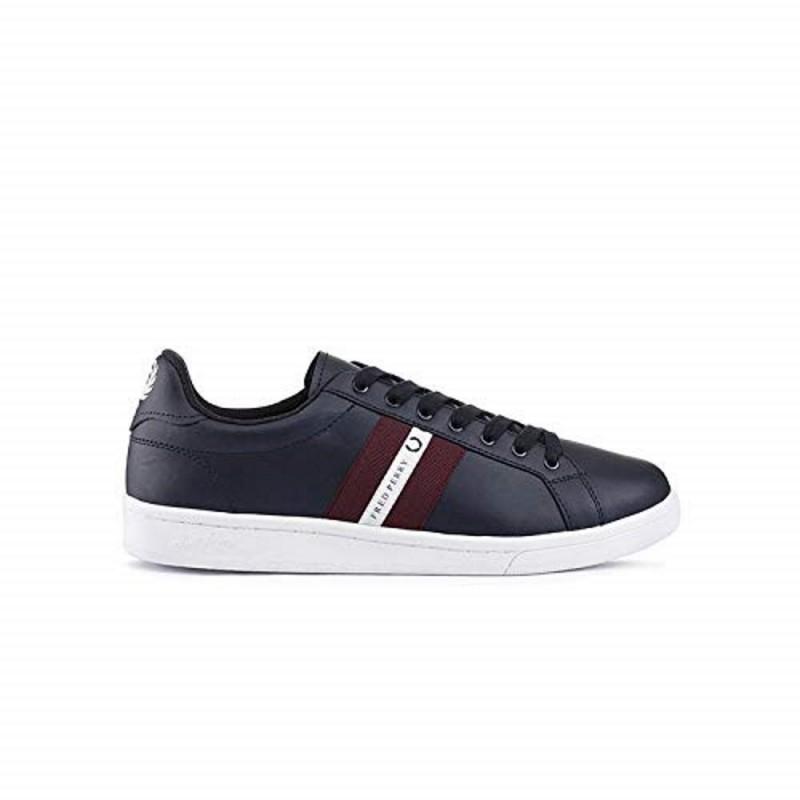 Zapatos hombre FRED PERRY B5178 TAPE 608 - Calzado hombre - Ropa de marca Fred Perry Zapato Hombre color azul marino primavera-v
