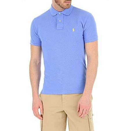 Polo manga corta Ralph Lauren color blu ciel - Polos|Camisas - Ropa de marca Polo Ralph Lauren Polo Hombre Manga corta cuello po