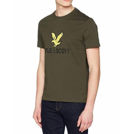Lyle & Scott camiseta cuello redondo TS1020V28 - Camisetas|Tops - Ropa de marca Lyle & Scott Ltd. Camiseta Hombre Manga corta cu