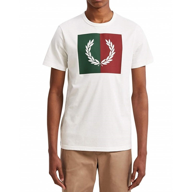 T-shirt man short-sleeved FRED PERRY...