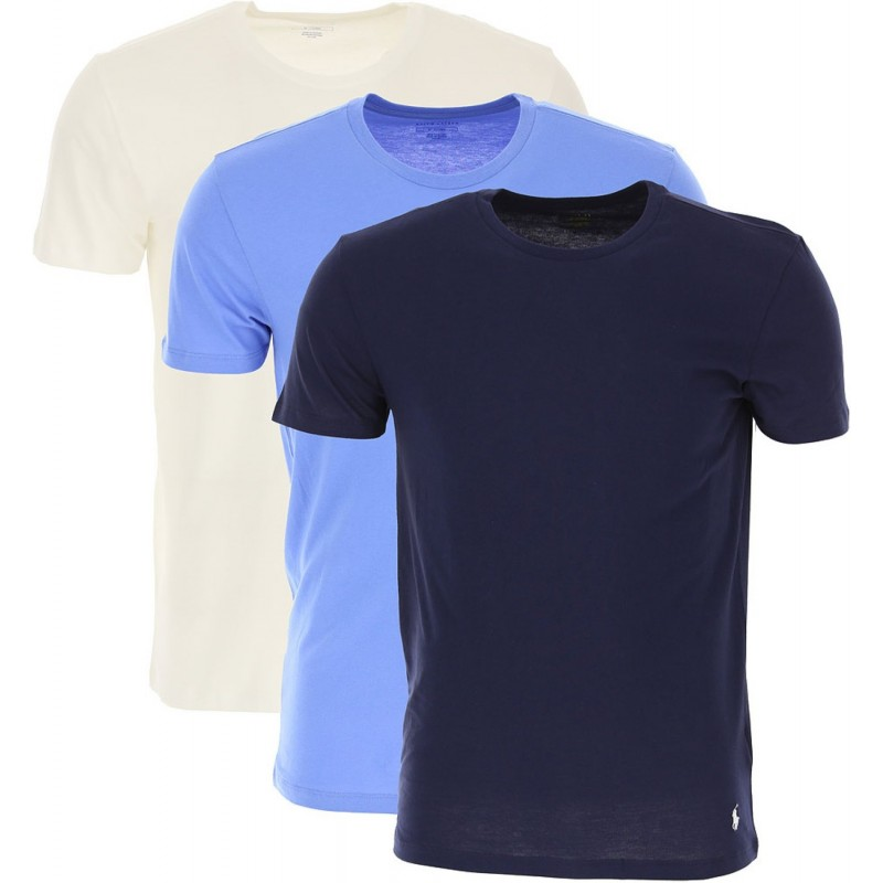 PACK OF 3 RALPH LAUREN MULTI BLUETEE...