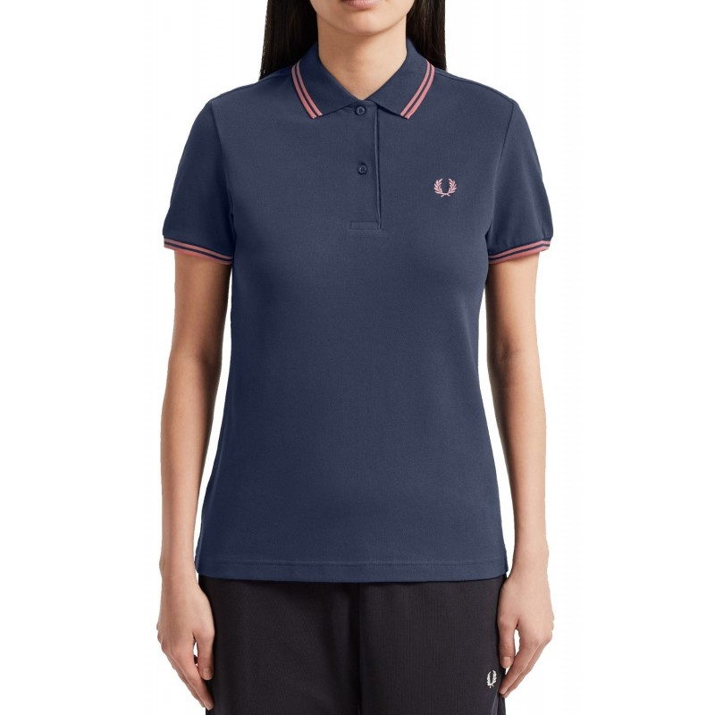 Black Fred Perry Women's Polo Shirt...