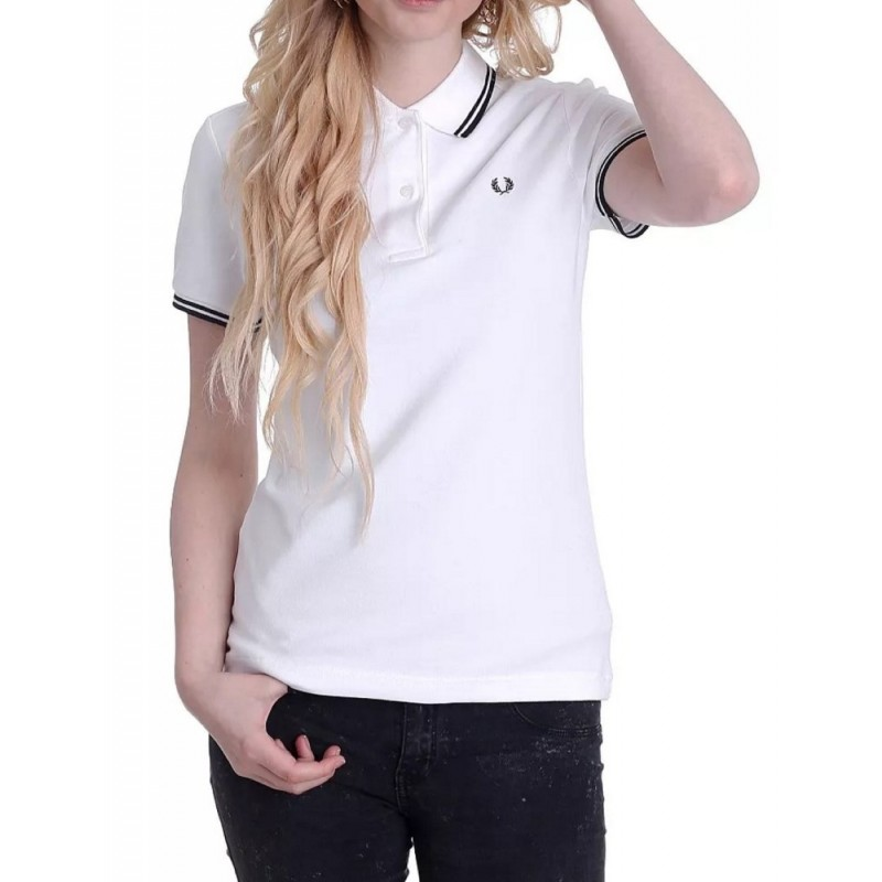 White polo shirt for women Fred Perry...
