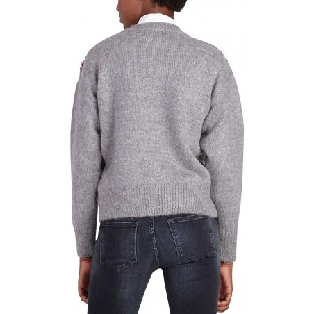 Long sleeve sweater for women Kaporal Jeans DIAMS - Sweaters|Hoodies - Branded clothing Kaporal Womens Sweater Long sleeve crewn