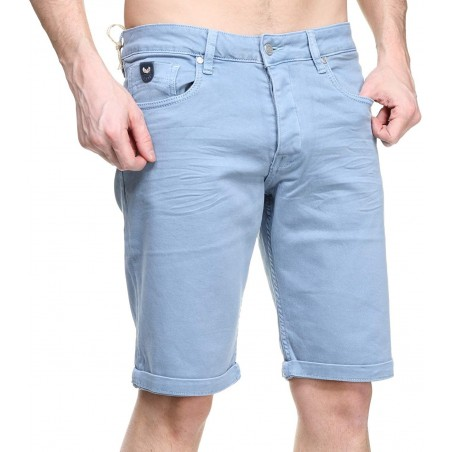 Bermuda hombre KAPORAL VITO MAUI - Shorts|Bermudas - Ropa de marca Kaporal Jeans Short Hombre color azul con botones -