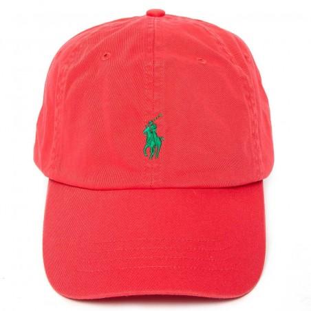 Gorra Ralph Lauren M CLASSICS RED - Gorras Hombre - Ropa de marca Polo Ralph Lauren Gorra Hombre color rojo primavera-verano 20