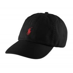 Casquette Ralph Lauren couleur noir - Casquettes Homme - Acheter la marque Polo Ralph Lauren Casquette Homme couleur noir avec b