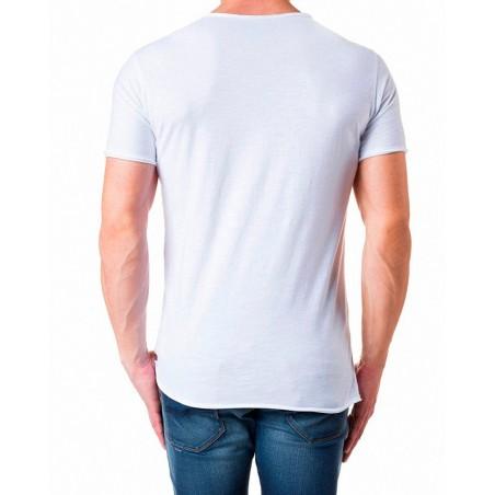 Camiseta Candela Salsa Jeans - Camisetas|Tops - Ropa de marca Salsa Jeans Camiseta Hombre Manga corta cuello redondo color blanc
